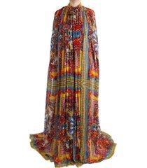 carretto silk tunic dress