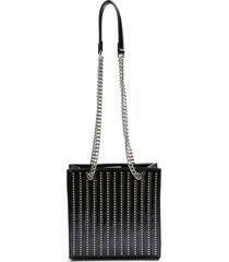 topshop toff studded faux leather tote -
