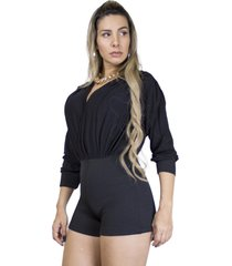 macaquinho dress code moda preto