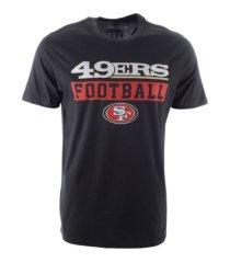 '47 brand san francisco 49ers men's backdraft super rival t-shirt