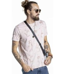 camiseta svk flowers masculina - masculino