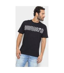 camiseta volcom silk check two masculina