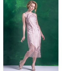sukienka cekinowa retro