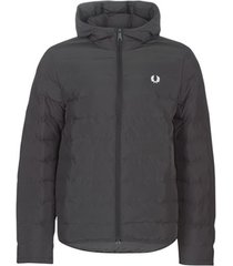 donsjas fred perry insulated hooded jacket