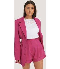 na-kd trend skräddarsydda shorts - pink