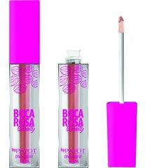 gloss labial diva glossy ariana 3,5ml #divaglossyariana - boca rosa by payot único