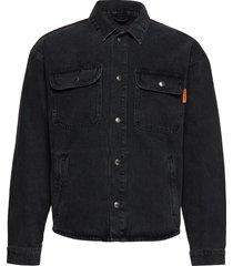 jjichase jjjacket over cj 185 jeansjack denimjack zwart jack & j s