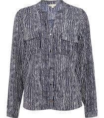 blusa tentation rayas azul - calce regular