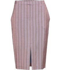 penelope skirt knälång kjol rosa birgitte herskind