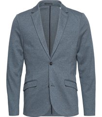 knitted blazer blazer colbert blauw lindbergh