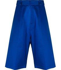 balenciaga m baggy shorts - blue
