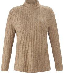 trui met lange mouwen van emilia lay beige