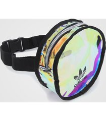 pochete adidas originals round waistbag incolor