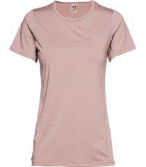 nora tee t-shirts & tops short-sleeved rosa kari traa