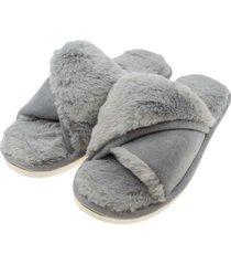 pantuflas florencia gris topsoc