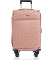 "guess fashion travel janelle 20"" softside carry-on spinner"