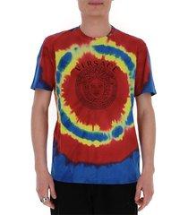 medusa tie-dye t-shirt