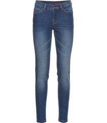 jeans super skinny cropped (blu) - rainbow