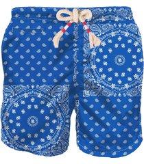 mc2 saint barth bluette bandana man swim shorts