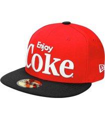 boné new era 5950 enjoy coke black