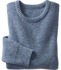 trui, jeansblauw xxl