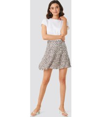 na-kd flowing skirt - multicolor