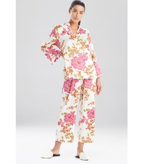 harumi satin pajamas / sleepwear / loungewear, women's, white, size s, n natori
