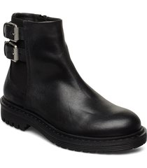 least w shoes boots ankle boots ankle boot - flat svart sneaky steve