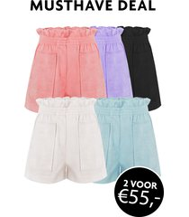 musthave deal suedine shorts