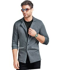 blazer adulto masculino gris marketing  personal
