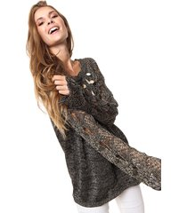 sweater dorado laila madison