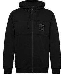 sprt icon fzh hoodie trui zwart adidas originals