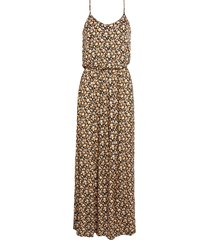 women's all in favor knit maxi dress, size medium - ivory