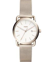 reloj fossil para hombre - the commuter  es4349