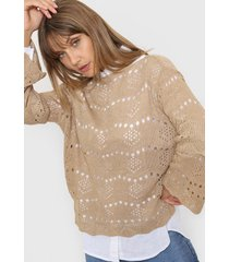 sweater beige laila britany