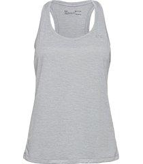 tech tank t-shirts & tops sleeveless grå under armour