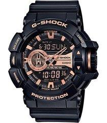 relógio g-shock analógico digital ga-400gb-1a4dr
