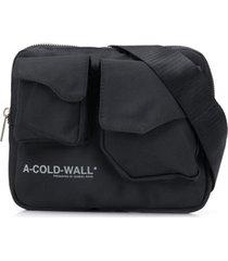 a-cold-wall* pochete com bolso - preto