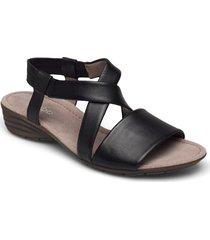 ankle-stap sandal shoes summer shoes flat sandals gabor