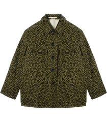 gedrukt workwear jacket