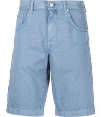 jacob cohen classic bermuda shorts - blue