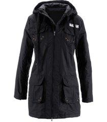 giacca da mezza stagione con imbottitura leggera (nero) - bpc bonprix collection