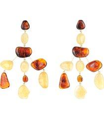 cult gaia designer earrings, tortoise sloane earrings