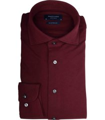 profuomo knitted shir bordeaux slim fit pp0h0a052/v