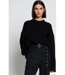 proenza schouler eco cashmere oversized sweater black l