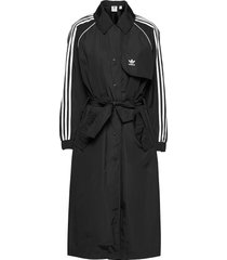 adicolor classics trench coat w trench coat rock svart adidas originals