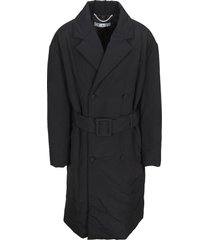 off-white off white padded trench coat