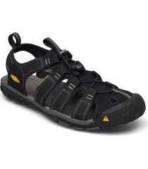 ke clearwater cnx m black-gargoyle shoes summer shoes sandals svart keen