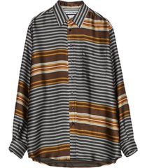shirt non-binary liquid stripe