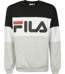 fila straight blocked crewneck sweatshirt